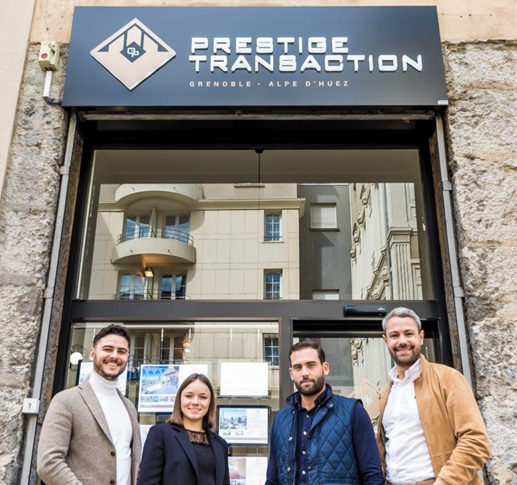 Faites l'estimation de votre appartement Grenoble avec l'équipe de Prestige Transaction