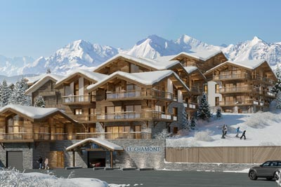 Programme immobilier neuf à l'Alpe d'Huez